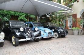 La collection privé de voitures anciennes de la Varangue.