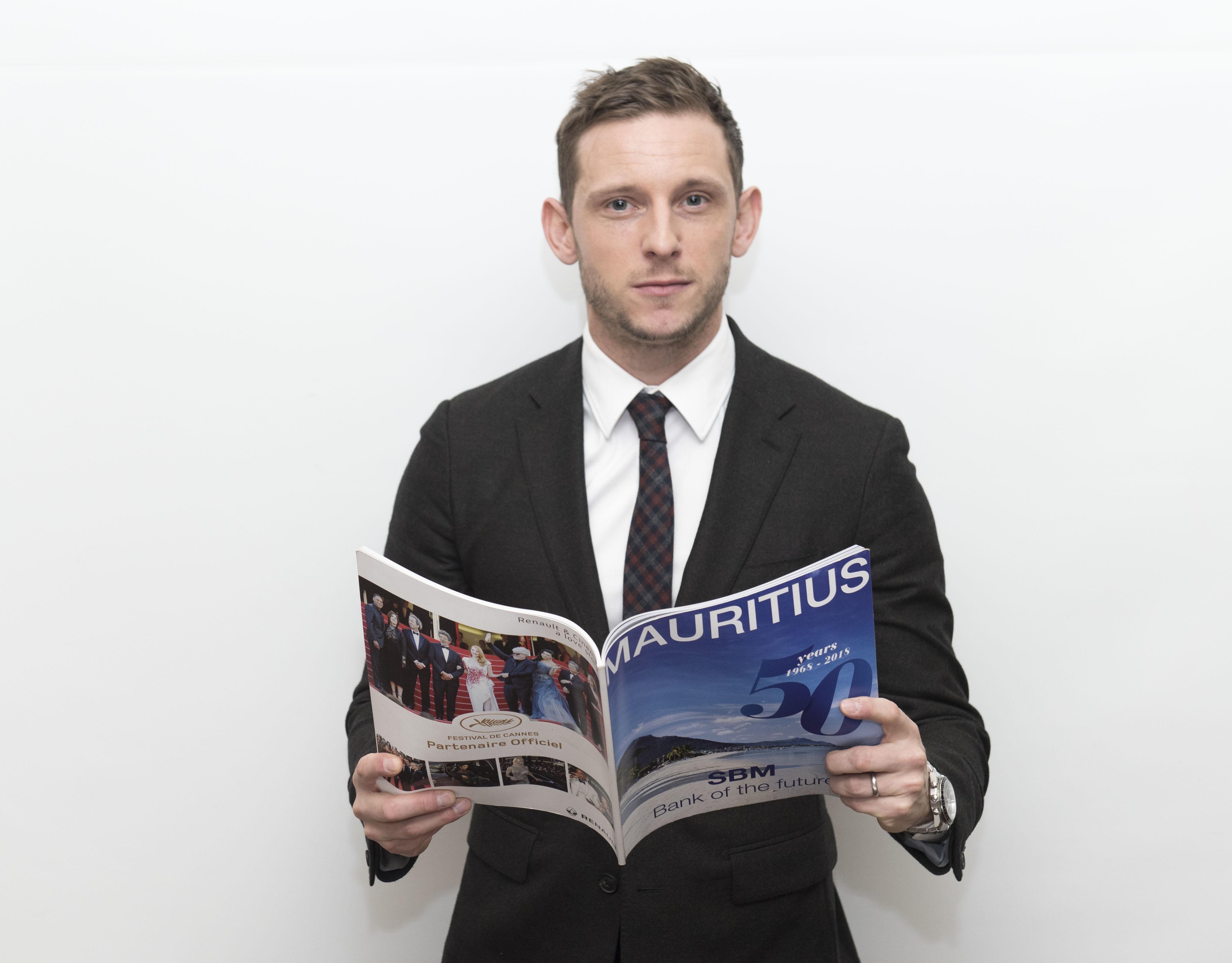 Jamie Bell - Dandy Magazine