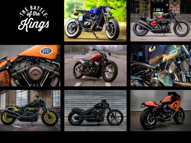 Harley Davidson - Battle of the kings