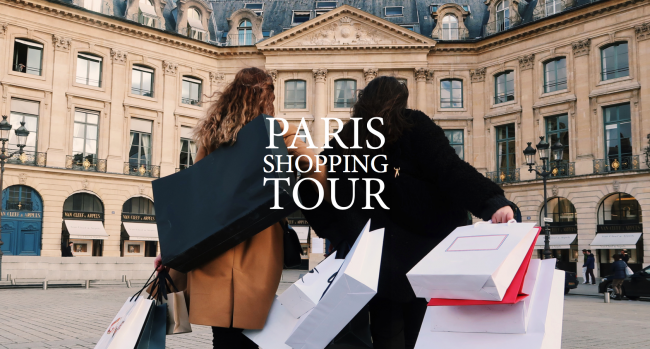 PARIS SHOPPING TOUR
