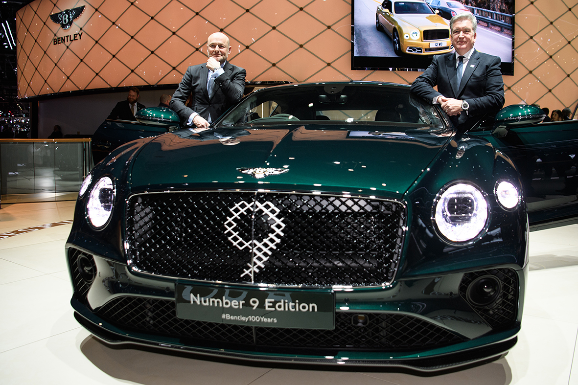 BENTLEY CENTENARY LIMITED EDITION