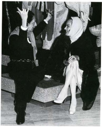 Alexis de Rédé et Diana Vreeland D.R.